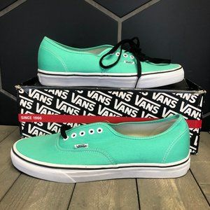 New W/ Damaged Box! Vans Authentic Biscay Green